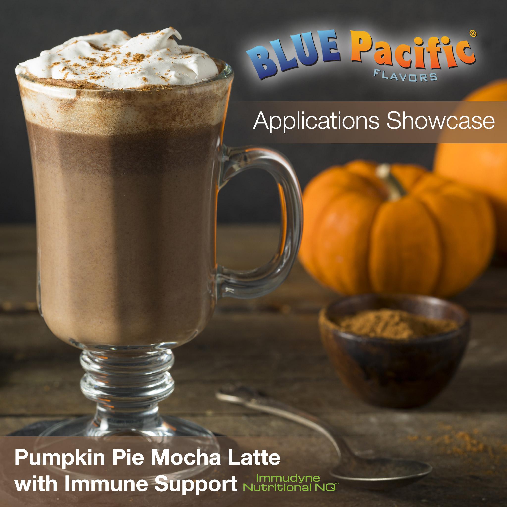 Pumpkin Pie Latte Applications Showcase