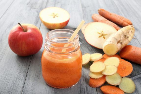 Apple Ginger Carrot Smoothie