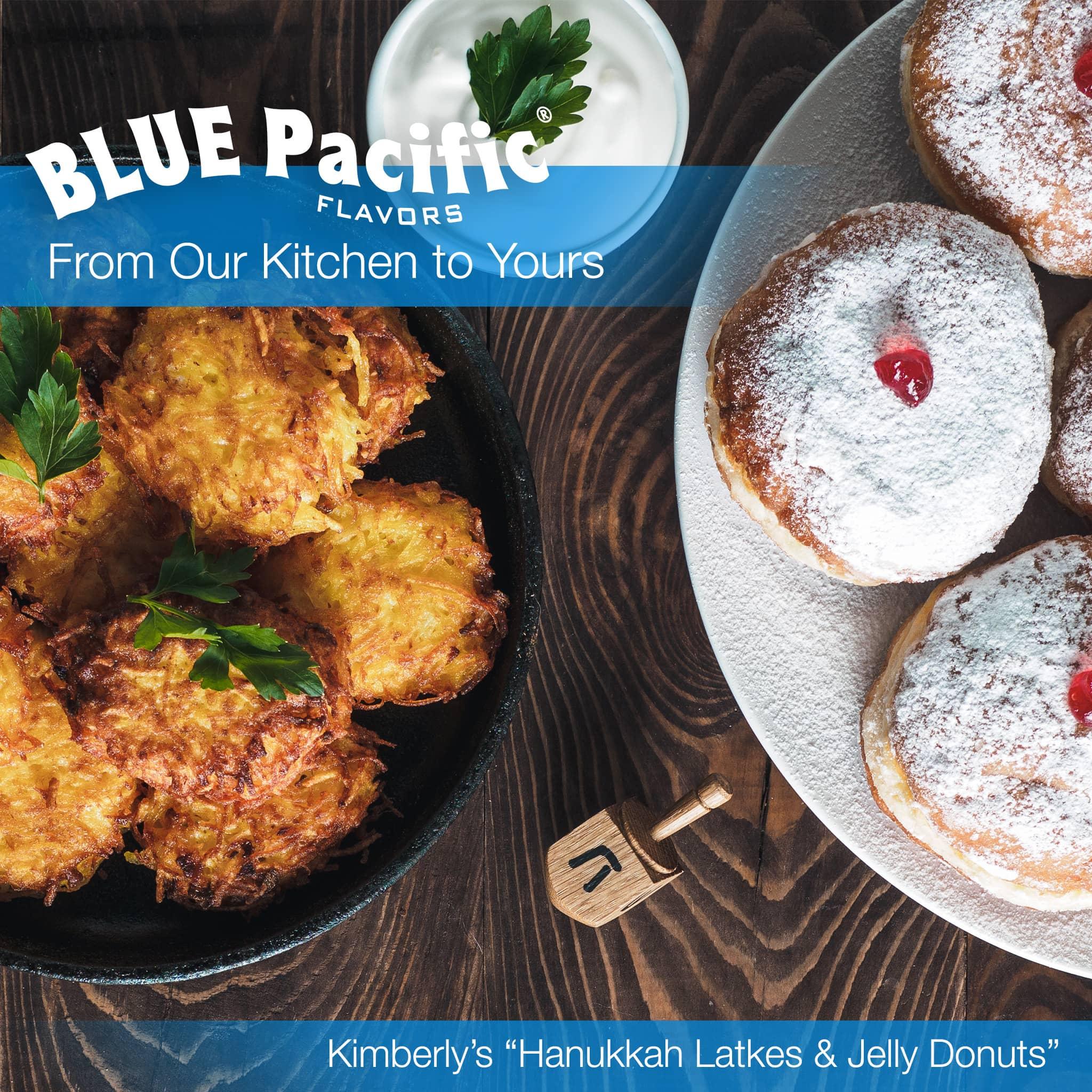 Kimberlys Latkes And Jelly Donuts