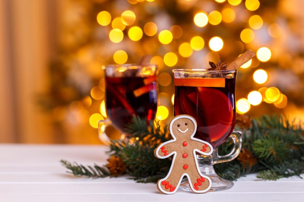 Spiced Wine Ginger Bread