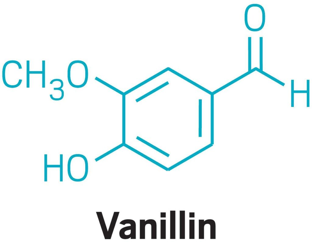 Vanillin Chemical Structure