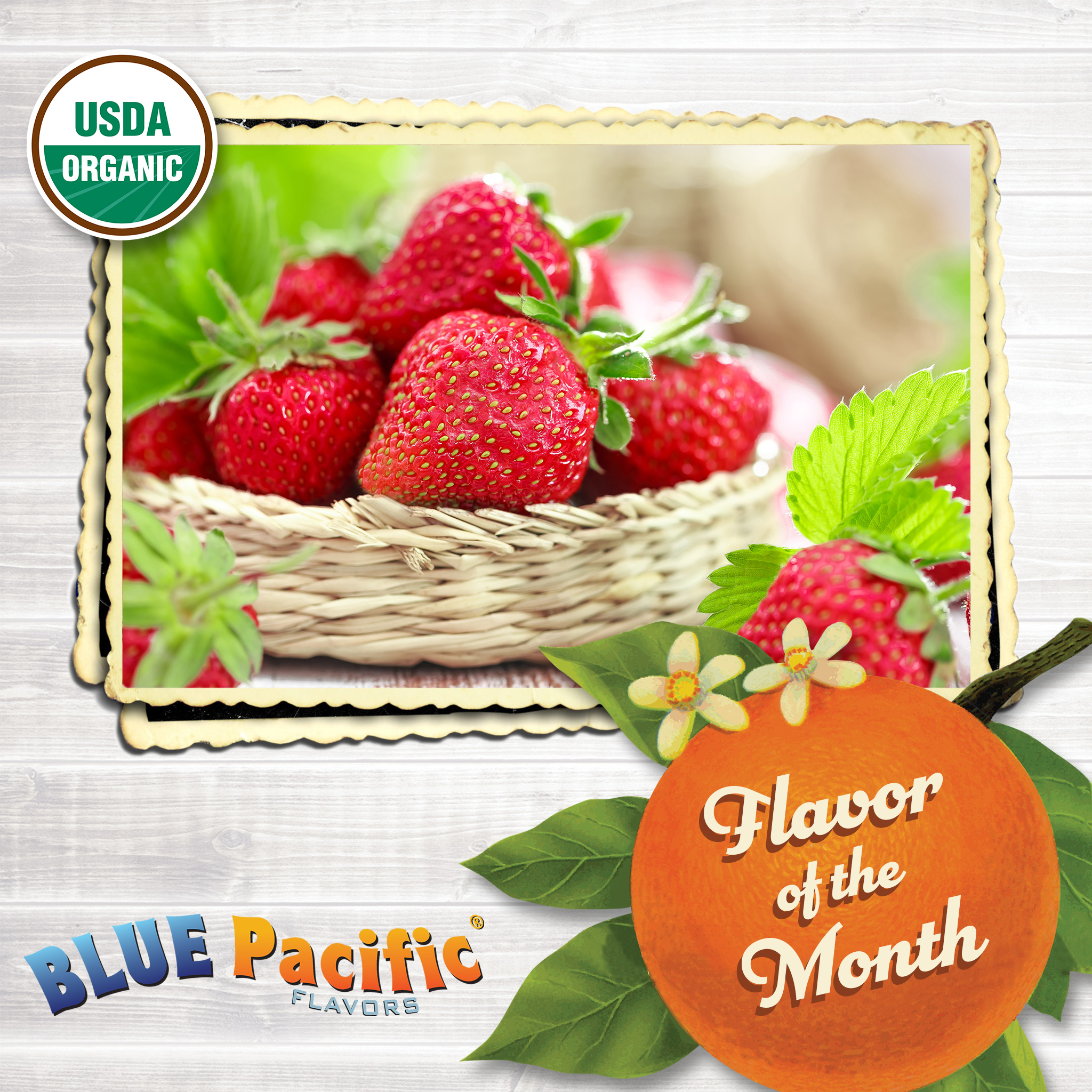 Strawberry Flavor Of The Month