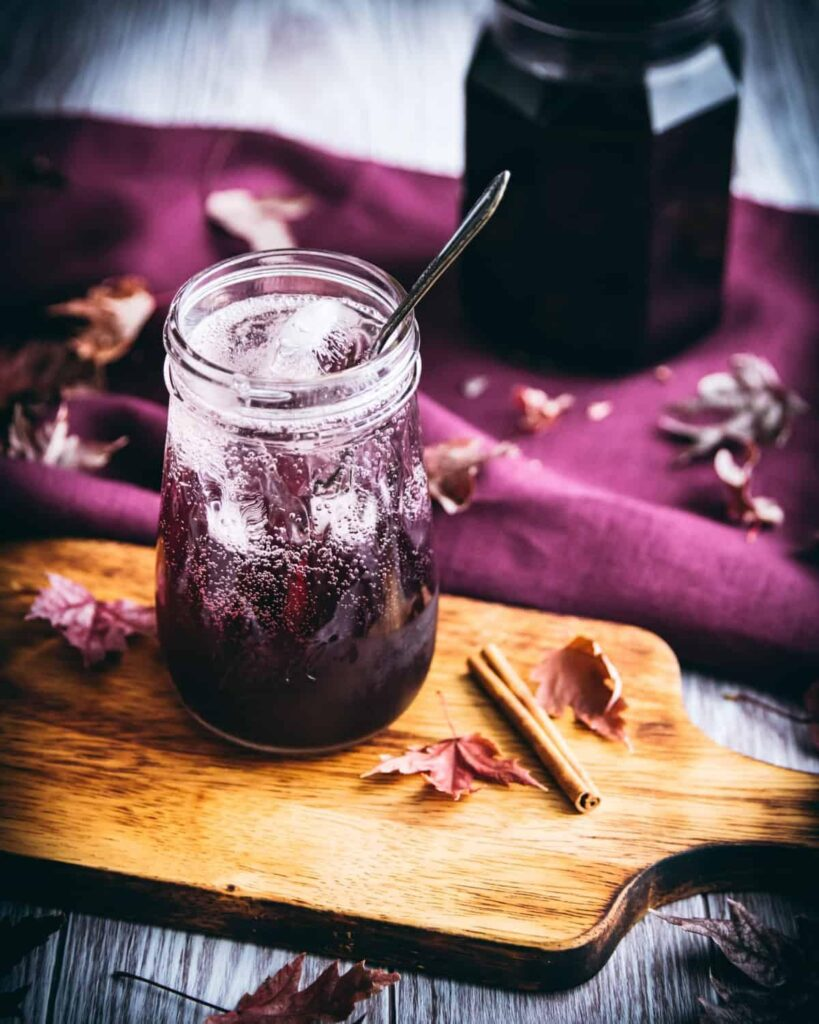 Elderberry Vodka Spritzer