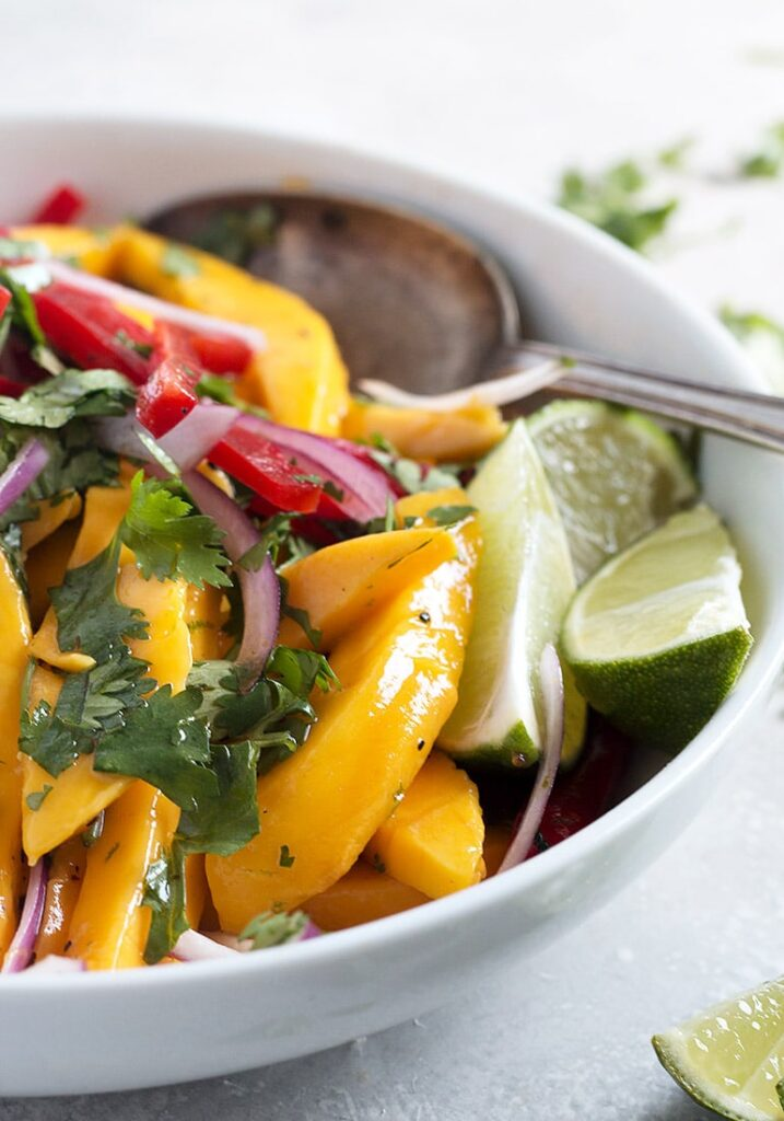 Mango Salad 8